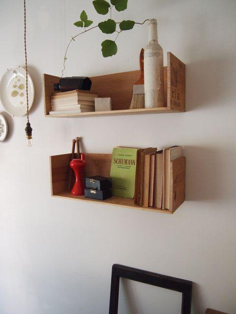 大人の工作☆手軽に使えるミニ本棚を作ろう